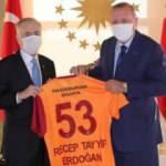 Mustafa Cengiz ve Cumhurbaşkanı Erdoğan buluştu