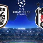 Beşiktaş, yarın PAOK'a konuk olacak