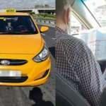 Trafikte at yarışı oynayan taksicinin ehliyetine el konuldu