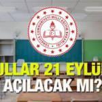 21 Eylül'de okulların açılması ertelenecek mi? MEB 2020-2021 eğitim yılı haftada 2 gün eğitim!