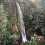 40 metre yükseklikten dökülen Sunturas Şelalesi