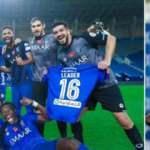 El-Hilal, Gomis'in 'hat-trick' ile şampiyon