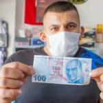 Hatalı banknotu, 150 bin TL'ye satıyor
