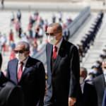 Devletin zirvesi Anıtkabir'de! Erdoğan'dan kritik mesajlar