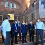 Vali Yerlikaya, Kariye Camii'nin ibadete açılması için yapılan çalışmaları inceledi