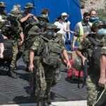 Yunanistan'dan yeni tahrik: Adaya silahlı asker çıkardılar