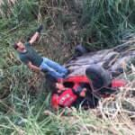 Aydın'da otomobil devrildi: 1 yaralı