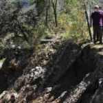 Bakan Kurum, selden etkilenen Çaldağ köyünde inceleme yaptı