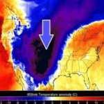 ABD'de hava sıcaklığı bir günde 30 derece düşecek