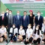 'Gençlerin Gelişimine Tenis ile Destek' Erasmus projesi tanıtıldı