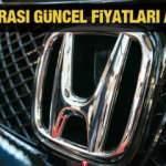 Honda Civic Hatchback, Civic Sedan, Honda HR-V, CR-V modellerinin yeni fiyatlarını açıkladı