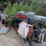 Kahramanmaraş'ta traktör devrildi: 3 yaralı