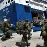 Meis Adası'nda asker provokasyonu yapan Yunanistan geri adım attı