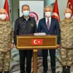 Milli Savunma Bakanı Akar ve TSK komuta kademesi Isparta'da!