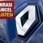 Renault ÖTV sonrası fiyat listesini yayınladı! 2020 model Megane Clio Symbol güncel fiyatları