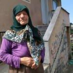 Rize'de 85 yaşındaki kadını mağdur eden yol projesi