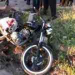Sivas'ta kamyonet ile motosiklet çarpıştı: 1 ölü