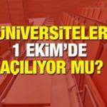 YÖK üniversitelerle ilgili kararını verdi! 2020-2021 yılında bahar dönemi uzaktan eğitim...