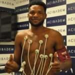 Yeni Malatyaspor'un yeni transferi Benjamin Tetteh sağlık kontrolünden geçti