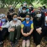 Sakarya Valisi Kaldırım mevsimlik işçileri ziyaret etti