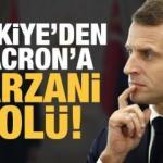 Ankara'dan Macron'a Barzani golü