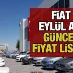 Fiat yeni sıfır araç modellerinin güncel fiyatlarını açıkladı! 2020 Fiat Egea Fiorino fiyatı