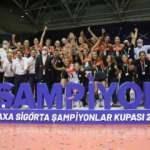 Kadınlar Şampiyonlar Kupası'nda zafer Eczacıbaşı VitrA'nın