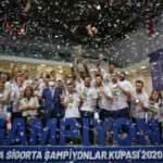 Kupa Fenerbahçe HD Sigorta'nın!