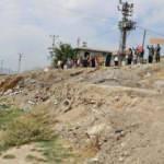 Mahallelinin kirli su ve koku isyanı