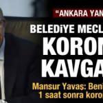 Mansur Yavaş: Bu sabah beni karşılayan korumada 1 saat sonra Korona çıktı!