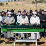 Mardin'deki trafik kazasında hayatını kaybeden 6 kişi yan yana toprağa verildi