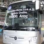 Mercedes, 95 bininci otobüsü üretti!