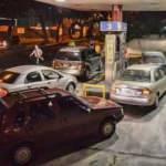 Ülkede benzin sıkıntısı başladı: Uzun kuyruklar oluştu