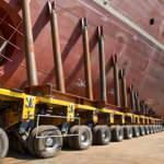 6 bin tonluk dev gemiler böyle suya indirildi!