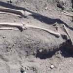 Diyarbakır'ın tarihi surlarında Orta Çağ dönemine ait iskeletler bulundu