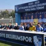 BB Erzurumspor transferlerini tanıttı