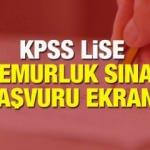 KPSS ortaöğretim başvuru tarihleri: 2020 ÖSYM KPSS lise başvurusu nasıl yapılır?