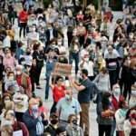İspanya'da karantina uygulaması geri geldi! Binlerce kişi protesto etti