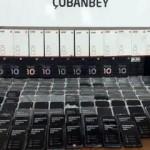 Sınırda 1 milyon TL değerinde kaçak cep telefonu ele geçirildi