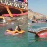 Tur teknesinde can pazarı! 26 yolcu vardı