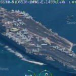 İran, ABD'nin uçak gemisini vurmak için nişan aldı