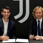 Alvaro Morata Juventus'a imzayı attı