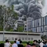 Huawei laboratuarında yangın çıktı