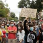 İspanya'da koronavirüs kısıtlamalarına protesto