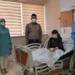 Koronavirüsü yenen 104 yaşındaki kadın taburcu edildi