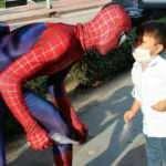 Örümcek Adam'ı görenlerin ağızları açık kaldı