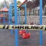 Oyun parkında eşini vurdu