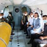 Helikopterden onlarca araca ceza kesildi