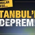 Son dakika: İstanbul'da deprem! AFAD ve Kandilli'den peş peşe açıklamalar