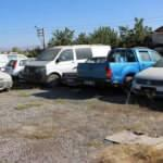 Piyasa değeri 50 milyon olan araçlar çürümeye terk edildi